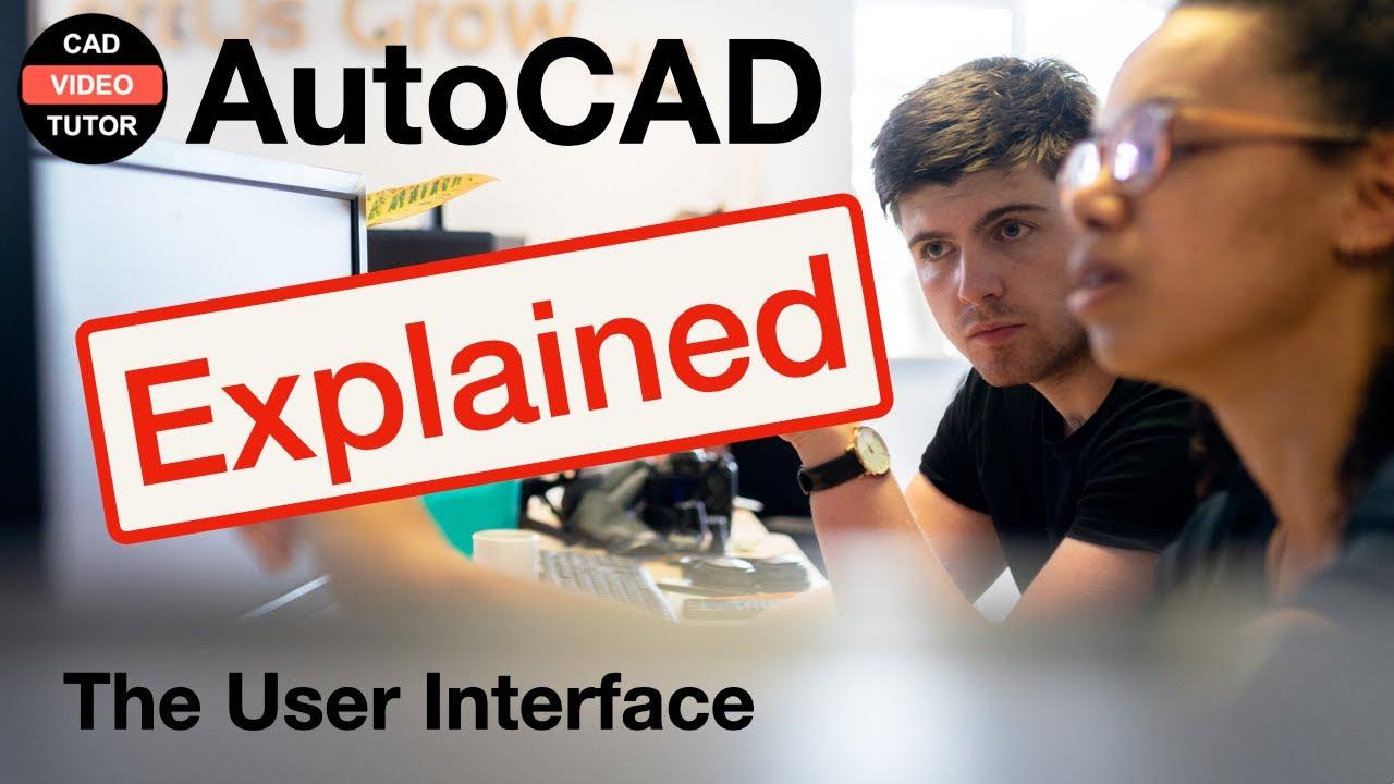 Autocad 2012 Tutorial 1 2 The Application Menu Youtube