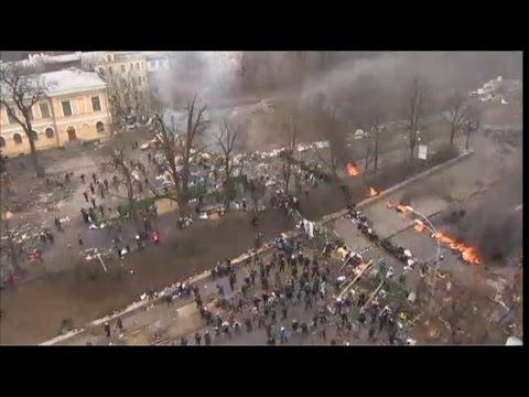 Ukraine Protest Violence: President Obama 'Condemns' Violence in Ukraine