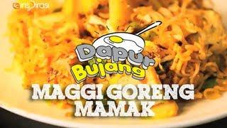 #DapurBujang Maggi - Maggi Goreng Mamak.
