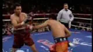 Manny Pacquiao VS Oscar De La Hoya Highlights