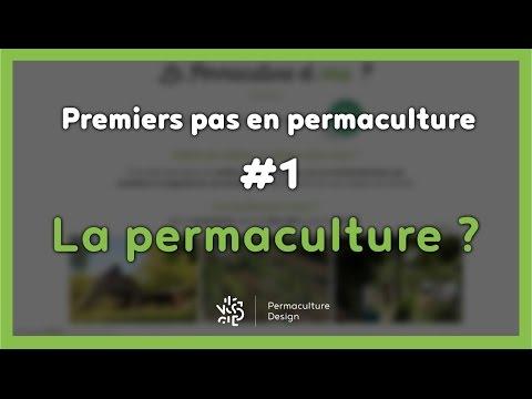 Premiers pas en permaculture #1/7 - LA PERMACULTURE ?