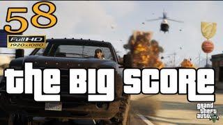 GTA V The Big Score Let's Play Walkthrough Part 58 EP 58 HD 1080p