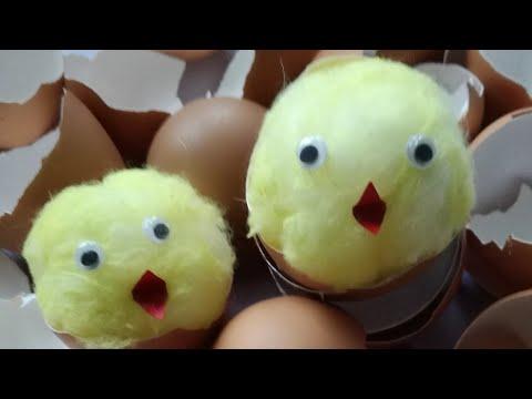 Jak zrobić kurczaczka - ozdoby wielkanocne