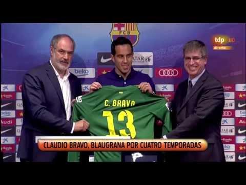 CLAUDIO BRAVO - Nuevo portero del FC BARCELONA
