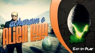 GTA V: ACHARAM O ALIEN EGG! Mistério Do Mount Chiliad