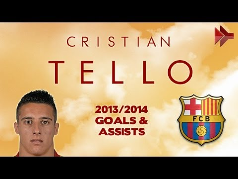 Cristian TELLO - Goals, Assists, Skills - FC Barcelona - 2012-2014 (HD)