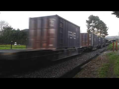 Tren mercancías Renfe-Feve Xove Ferrol