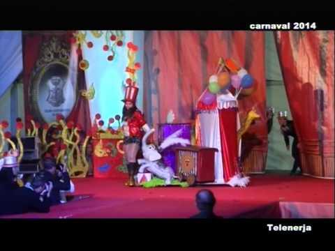 Natalia Torrubia Cabra, Ninfa Infantil del Carnaval de Nerja 2014