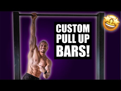 I Built Pull Up & Dip Bars! (Added to my gym)