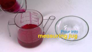 How to measure fluids