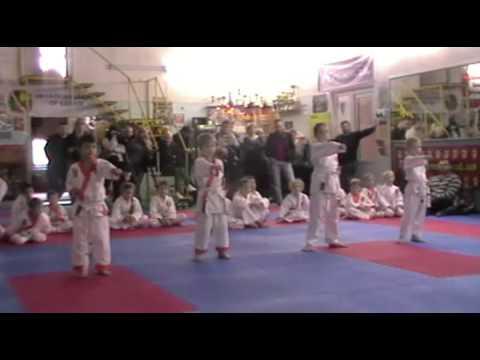 Экзамен по каратэ 3 ноября 2013 года в клубе Тигренок.ч.1