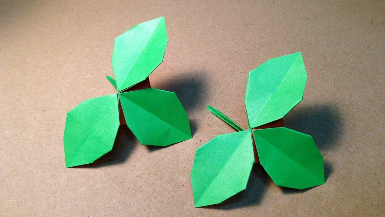 ... バラの葉の折り方 作り方 : 折り紙 バラ 葉 折り方 : すべての折り紙