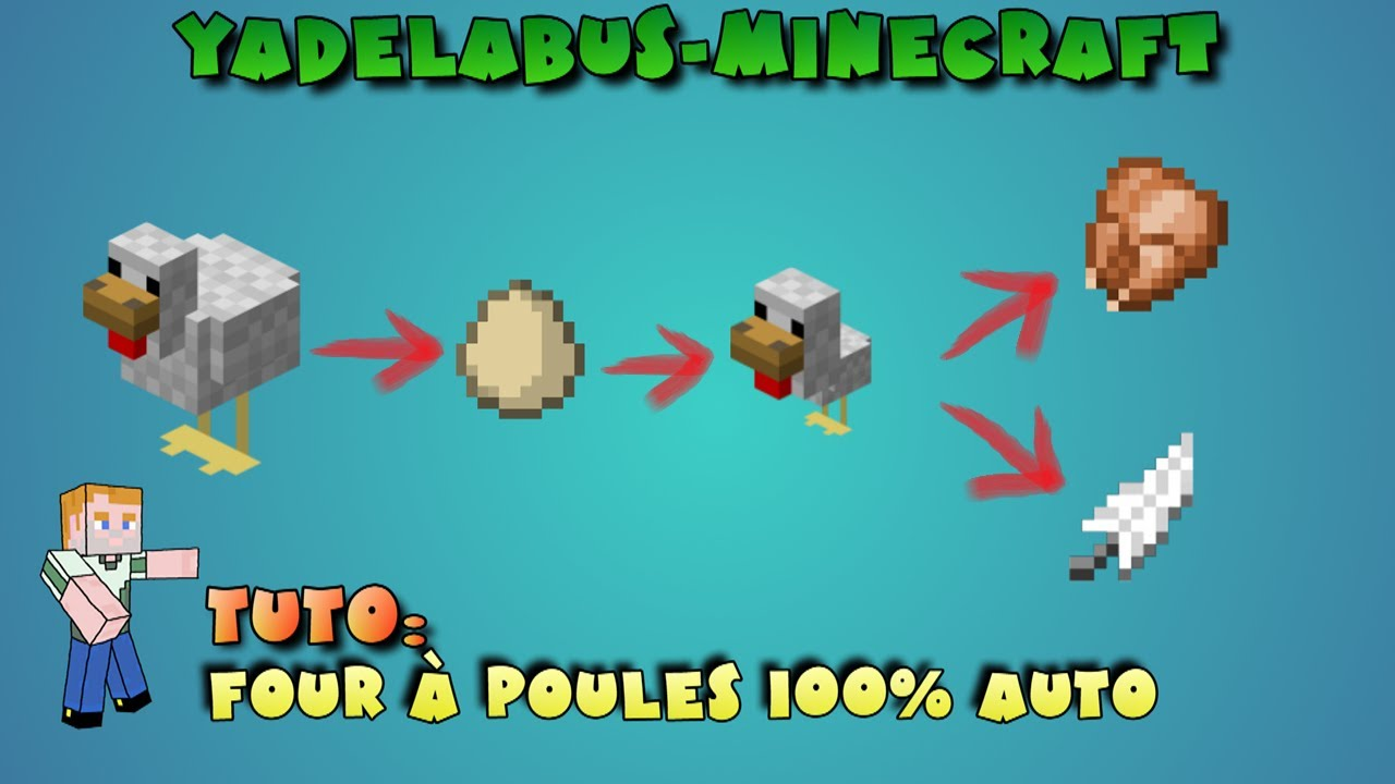 - Poule minecraft ...