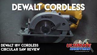 Dewalt 18v Cordless circular saw | Dewalt DW 936