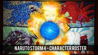 Naruto Shippuden Ultimate Ninja Storm 4 Character Roster