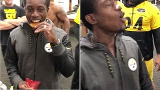 Watch Steelers Players Get BURNED by the Spicy One Chip Challenge