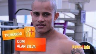 Treino de pernas com Alan Silva