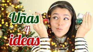 Ideas de uñas para Navidad