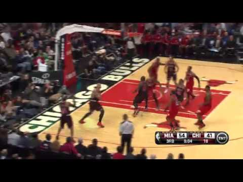 Miami Heat vs Chicago Bulls - February 21, 2013