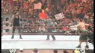 The Undertaker Vs John Cena ( RAW 2006 )