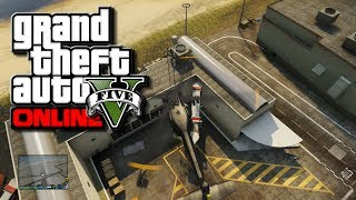 "GTA 5 Online ""Secret"" Airport Terminal/Bunker & How To"