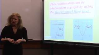 College Algebra: Lecture 9 - Inverse Functions or In Reverse