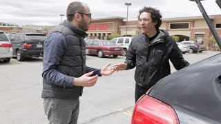 Gay Couple Argue In Parking Lot