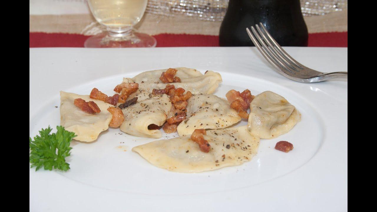 Recette de raviolis la farce d 39 aubergines youtube - Youtube cuisine italienne ...