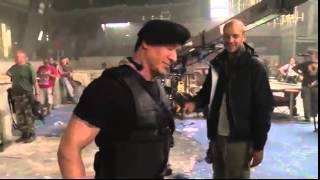 THE EXPENDABLES 3 (2014)-- Making Of Video (NEW) Behind