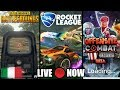 PLAYERUNKNOWN S BATTLEGROUNDS Rocket League Offensive Combat Redux GAMEPLAY LIVE ITA 1080p