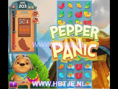 Pepper Panic Saga level 203