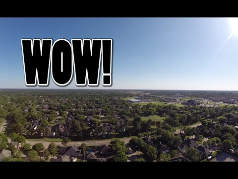 First drone edit! Traxxas aton & Gopro hero 3+!Flying high in katy Tx!Flying over 400ft!