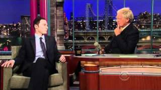 Video: Jim Parsons - David Letterman (2010)