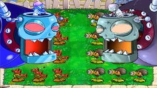 Plants vs Zombies Hack : Dr. Threepeater vs Dr. Gatling Pea
