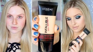 First Impression Review ♡ L'Oreal Infallible Pro-Matte 24HR Foundation