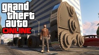 GTA 5 Online - How To Get The HVY Cutter (Massive Vehicle!) Secret/Rare Vehicle! (GTA V Multiplayer)