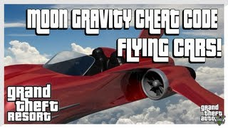 GTA 5 Flying Cars Cheat Code (Grand Theft Auto 5 Secrets