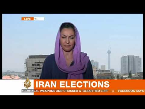 Hasan Rouhani leads vote count in Iran