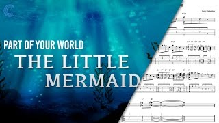 Violin Part Of Your World Disney's The Little Mermaid