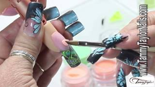 ♡ Tammy Taylor Irish Leprechaun Nail Design