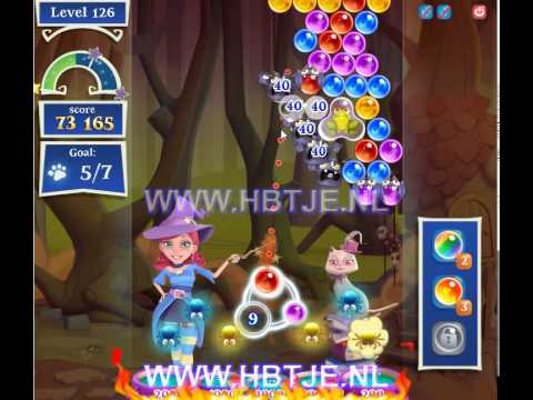 Bubble Witch Saga 2 level 126