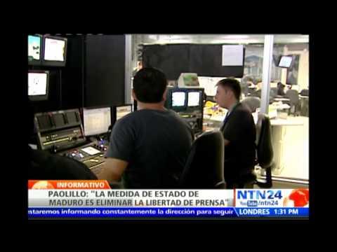 NTN24 cumple 15 días fuera de los cable operadores en Venezuela tras censura del Gobierno de Maduro