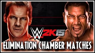 WWE 2K15 Elimination Chamber Matches: Additions