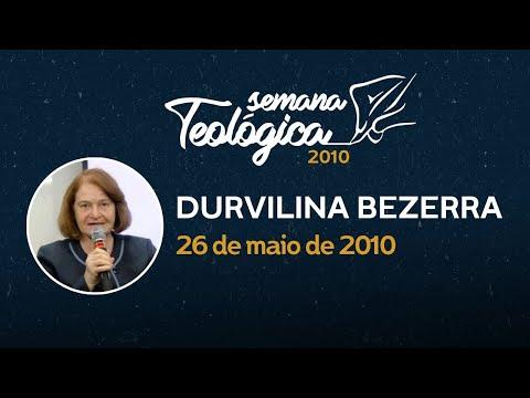 Durvalina Bezerra – Semana Teológica 2010