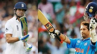 Alastair Cook all set to break Sachin Tendulkar's record