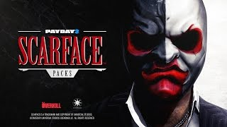 Payday 2 - Scarface Packs Trailer