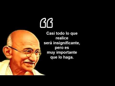 10 Frases Celebres de Mahatma Gandhi - INSPIRATE