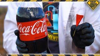 Shooting Nail Darts At Coke