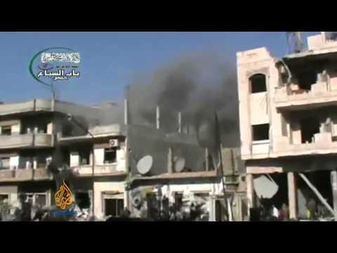 Homs evacuation continues