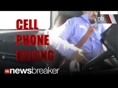 DISTRACTED DEATH: New Video Shows Driver Using Cell Phone Right Before Crash